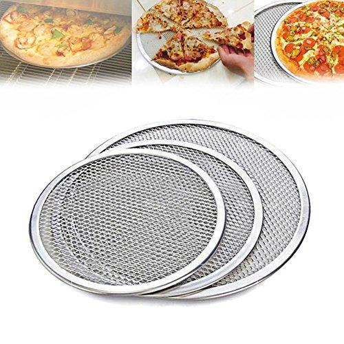 Woopower Pizzablech, 15,2–35,5 cm, flaches Aluminiumgitter, Backblech, Küche, Werkzeug, antihaftbeschichtet, aluminium, 35, 6 cm
