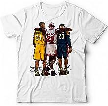thedifferent T-Shirt Bambino Ragazzo Michael Jordan Nome Schiacciata Vintage