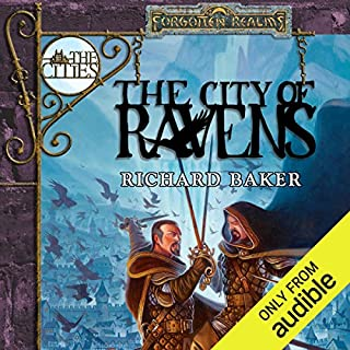 The City of Ravens audiobook cover art