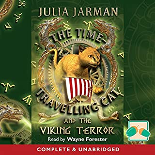 The Time-Traveling Cat and the Viking Terror cover art