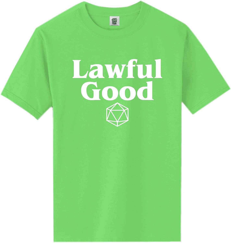 zerogravitee Lawful Good Short Sleeve Neon Tee
