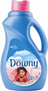 Downy Fabric Softener, Ultra Concentrated, April Fresh, 40 Loads, 34 fl oz (Pack of 2)