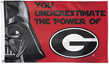 University of Georgia Star Wars Darth Vader 3x5 Deluxe Flag