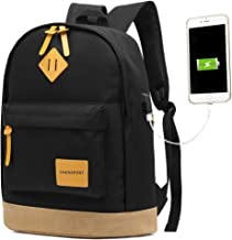 CHANSPORT Cool Backpack For Men and Womens With USB Charger Port