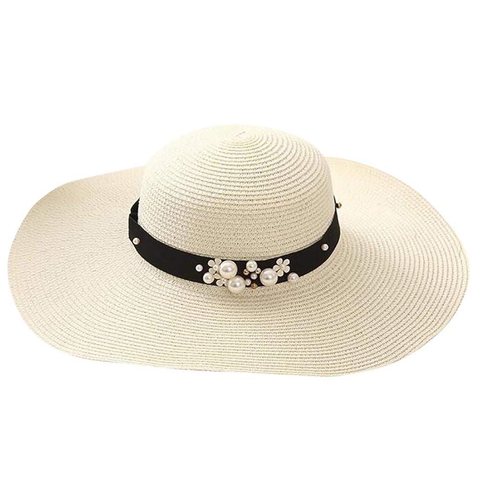 レプリカリラックス自体漁師の帽子 ROSE ROMAN UVカット 帽子 帽子 レディース 麦わら帽子 UV帽子 紫外線対策 通気性 取り外すあご紐 サイズ調節可 つば広 おしゃれ 可愛い ハット 旅行用 日よけ 夏季 女優帽 小顔効果抜群
