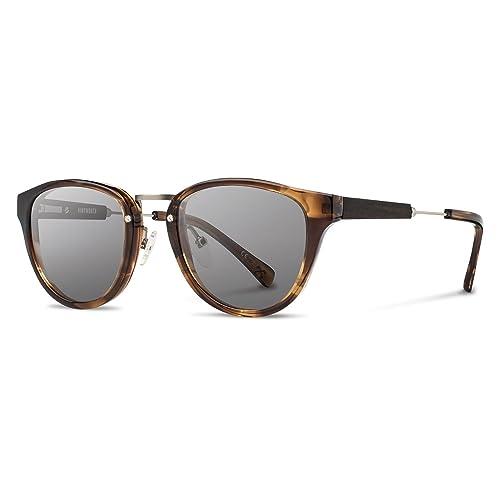 77b6daa1b6 Shwood - Ainsworth Round Acetate   Wood Sunglasses