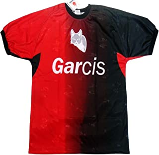 Garcis Soccer Mexico Jersey Model Atlas Color Red and Black