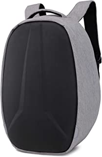 Mochila cómoda y Duradera Impermeable Bolso para Ordenador Portátil para Hombre, Mochila Impermeable con Carga USB, Anti