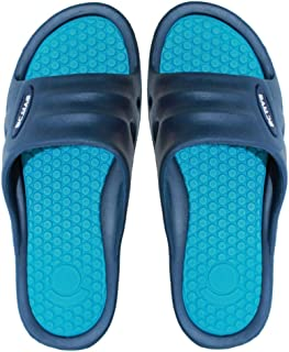 9M Clothing Company Women's Light Weight Slide Sandals | Beach Flip Flip Water Shoe with Open Toe, Great for Showers, House Slipper, Dorms & Outdoor Use