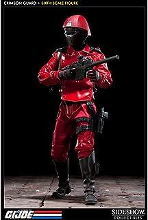 GI Joe Sideshow Collectibles 12 Inch Deluxe Action Figure Cobra Elite Trooper Code name Crimson Guard