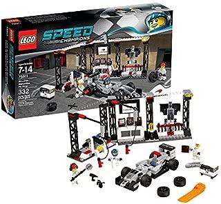 LEGO (LEGO) speed champion McLaren Mercedes pit stop 75911