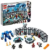 LEGO Marvel Avengers Iron Man Hall of Armor 76125 Building Kit -...