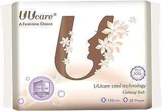 UUcare Cool Tech Antibacterial Pantyliner 150mm, 20ct