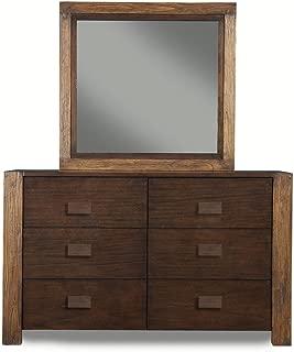 American Lifestyle, Inc 6 Drawer Dresser Espresso