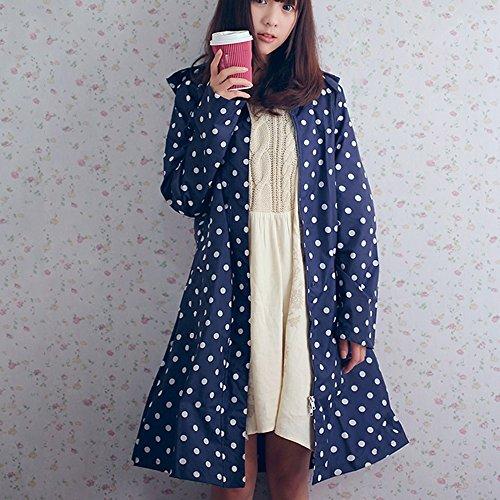 ZZHF Yuyi Impermeabile Moda Light Trench Coat Impermeabile Adulto Walking Poncho Size Opzionale
