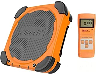 Elitech LMC-210A 150KG Báscula Electrónica Refrigerante para HVAC, Escala de Recuperación de Peso de Carga Electrónica de Refrigerante Inalámbrico✩Garantía de 12 meses✩