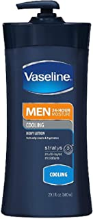 Vaseline 男士清凉保湿身体乳液 24.50 盎司 Pack of 5
