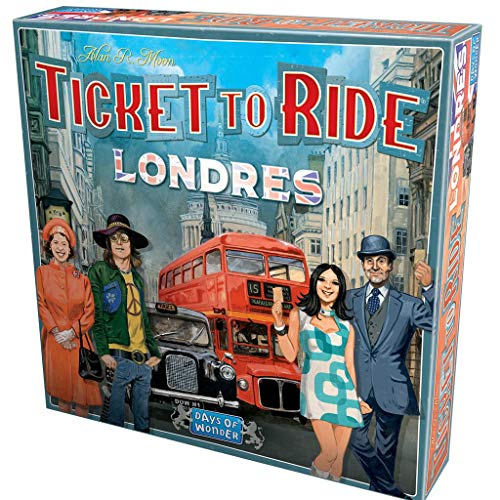 Days of Wonder-¡Aventureros al Tren Londres ES/PT, Color (DW722461ML)