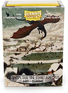 Arcane Tinman Dragon Shield: Limited Edition Art: Hunters in The Snow - Box of 100 Sleeves, Standard AT-12015, Art: Hunter...