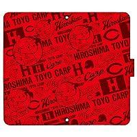 Xperia XZ3 SO-01L ケース [デザイン:29.坊pattern(re)/マグネットハンドあり] カープ坊や 広島東洋 カープ docomo ドコモ エクスペリア so01l 手帳型 スマホケース スマホカバー 手帳 携帯 カバー