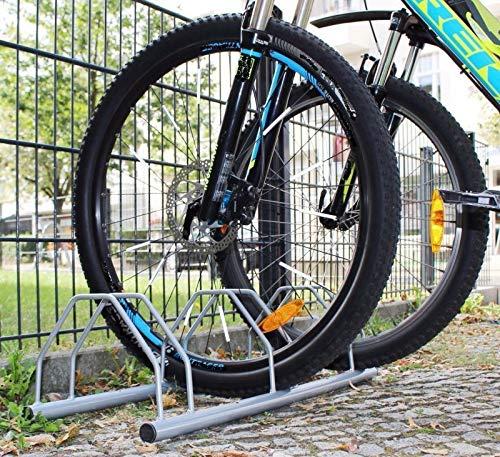 INION MHBB5020 - Freistehender Boden Fahrradständer für 3 Fahrräder Fahrradparkplatz Fahrradhalter Räder Fahrrad Bike Ständer/chiavi
