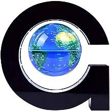 JNMDLAKO Beau Globe Flottant Anti-gravité de 4 Pouces avec lumière LED, Globe en lévitation Bleu pour bébé garçon Fille En...