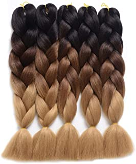 Best olive green braiding hair Reviews