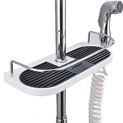 Amazon.com: Estante de 4 estantes para esquinas de ducha ...