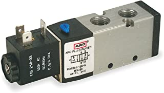 ASCO WT-8551-A001-MS Solenoid Valve 1//4IN FPT X 1//4IN Orifice 6.3W 0.86CV Single Solenoid Aluminum Body 4-Way 30-150PSI