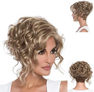 Best layered curly wig Reviews