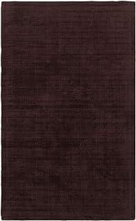 Moretti Trudeau Area Rug 35106 Purple Single-Color Shaded 8' x 10' Rectangle