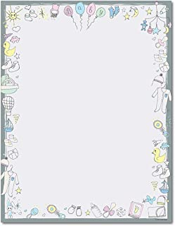 baby stationery paper
