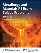 Metallurgy and Materials PE Exam Solved Problems