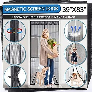 AIZESI Heavy Duty Magnetic Screen Door