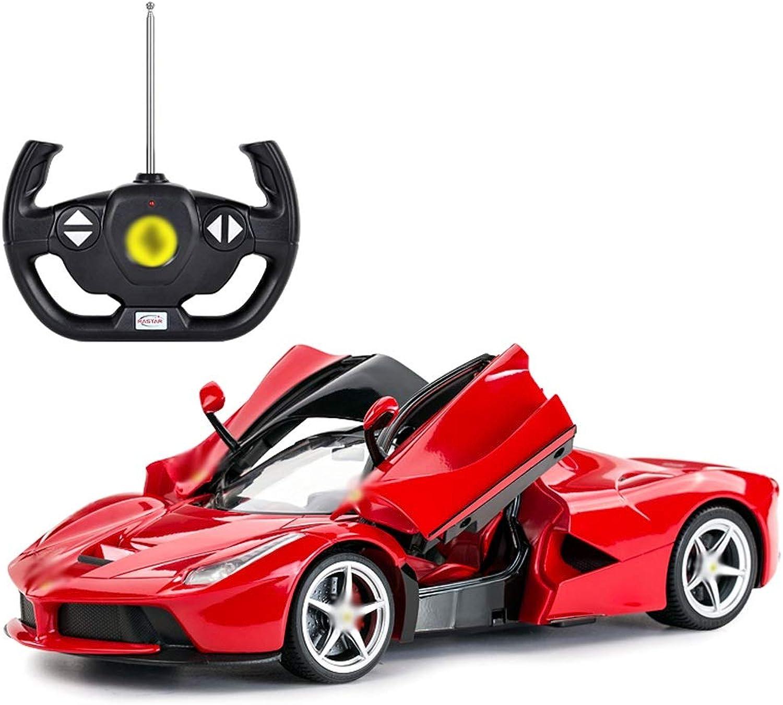 oferta de tienda HEAGREN Auto telecomandata Auto giocattolo di grandi grandi grandi dimensioni Auto Sportiva riCocheicabile Modello Ferrari Auto telecomando (rojo, amarillo) Juguete (Color   rojo)  genuina alta calidad