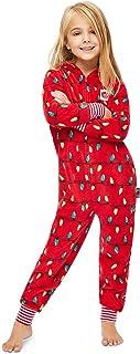 Jammin Jammies Family Holiday Merry Litmas Matching Pajamas - Kids Onesie Size XL