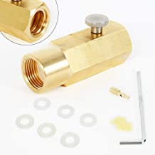 Baugger Raccord de tuyau en laiton Baugger-pour recharge Soda Stream et Soda Club W21.8-14
