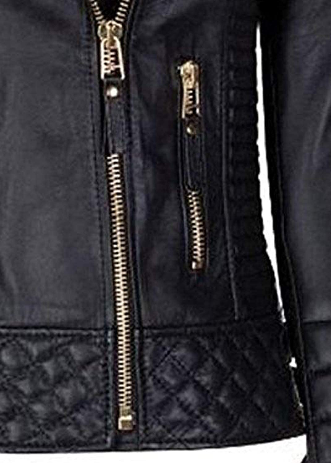 Ribi's Style Appeal Special Quilted Leather Jacket for Women