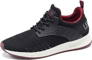 YIRUIYA الرجال متماسكة أحذية الجري سهلة الارتداء أحذية رياضية تنفس التنس المشي الصالة الرياضية