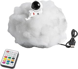 DYJD White Cloud Lights-résine Astronaute Ornements à télécommande Nuit Lumières de Nuit USB Lumières de Chevet, Cadeaux p...