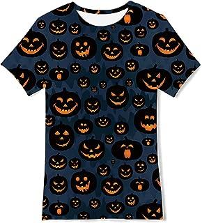 Boys 3D Graphic Printed T-Shirt Crewneck Short Sleeve Tees 6-16 Years