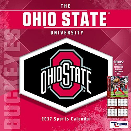 "Turner Licensing Sport 2017 Ohio State Buckeyes Team Wall Calendar, 12""X12"" (17998011837)"