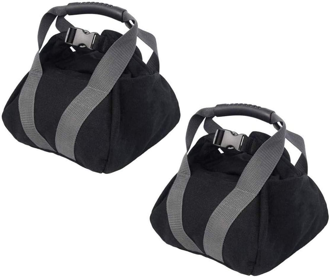 2-Pack Canvas Kettlebell Super beauty product restock quality Dedication top Sandbag wtih Hand Adjustable