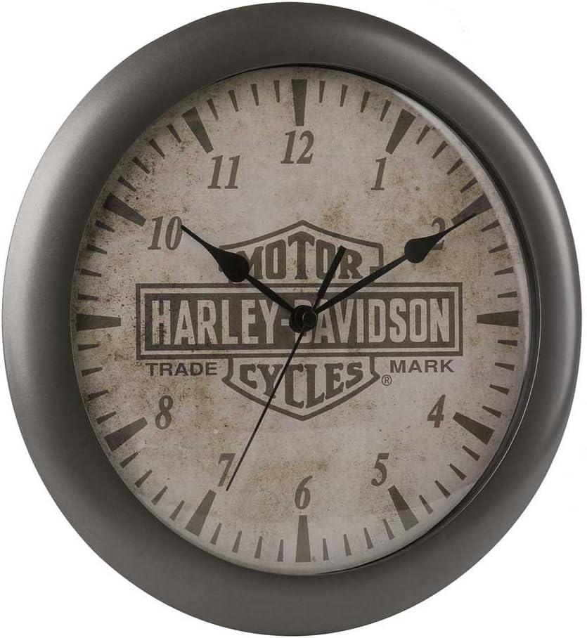 Harley-Davidson Core Trademark Bar Shield inch 11 Logo service Finally popular brand Clock