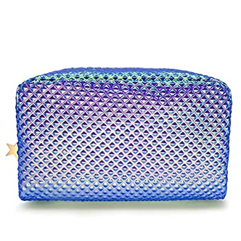 Holographic Cosmetic Bag Makeup Bag Toiletry Travel Bag Handy Large Protable Wash Pouch...