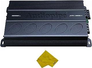 $179 » Audiopipe 4 Channel Amplifier – Class A/B Multichannel Amplifier 2200 watt, Car Electronics Car Audio Subwoofer 2 Ohm Stab...
