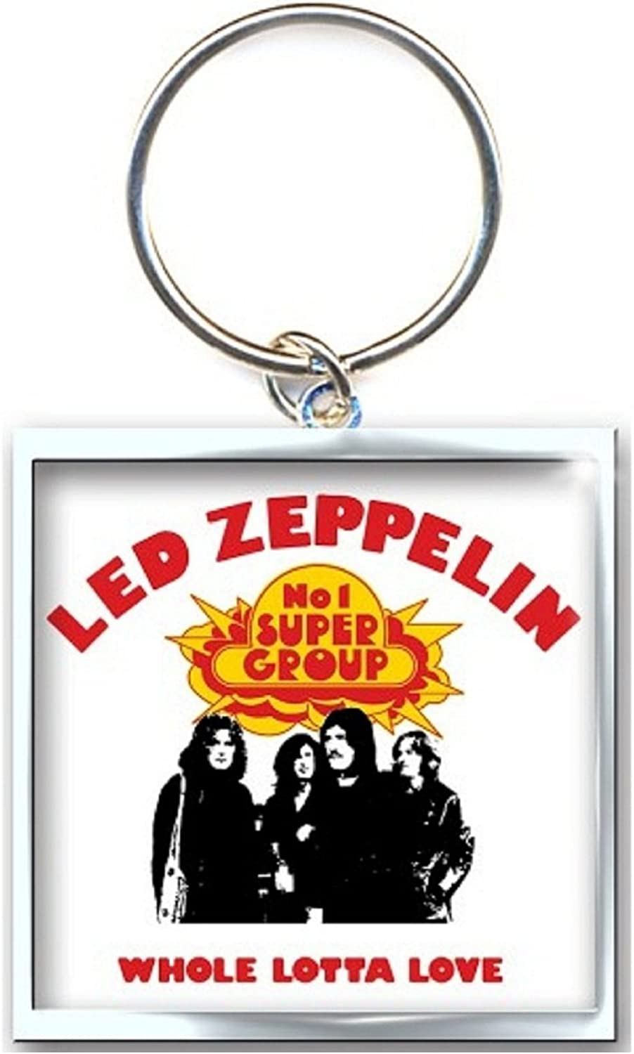 Led Zeppelin Keyring Keychain Whole Lotta Love Official Size One Size