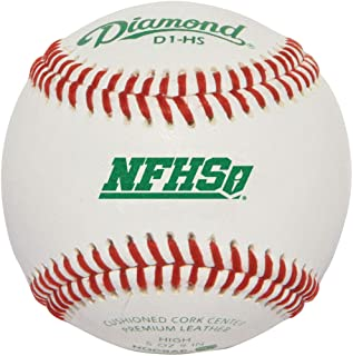 Diamond D1-Nfhs Leather Baseballs 12 Ball Pack