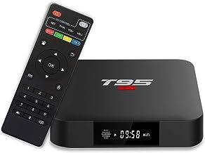 T95 S1 Android 7.1 TV Box with 1GB RAM / 8GB ROM Amlogic S905W Quad-core Digital Display HDMI HD Support 2.4G WiFi 3D 4K
