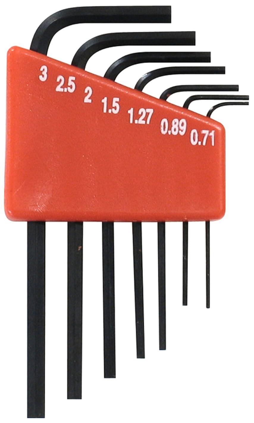 確かな叫び声冷蔵庫パオック(PAOCK) SSPOWER(エスエスパワー) 精密ヘックスレンチ 7本組 SHRM-7 ミリ